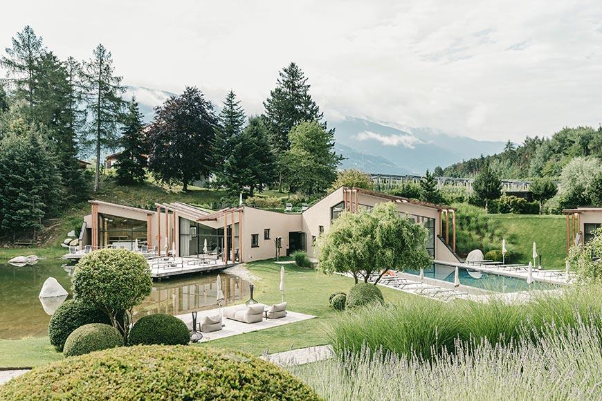 nuovo hotel benessere con spa a bressanone seehof